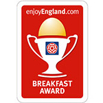 breakfast award at guest house ilfracombe north devon