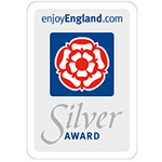 accommodation silver award by enjoy england