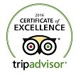 Dorchester Guest House Trip Advisor Certificate Excellence 2016